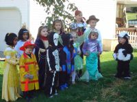 Halloween Parade participants 10/26/08